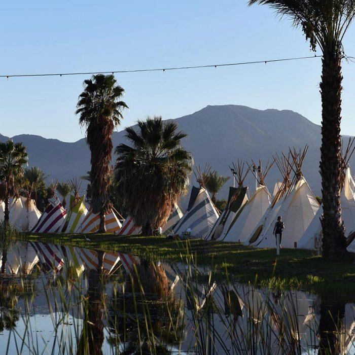 B) On-site Gl&ing at Lake Eldorado & Getting ready for Coachella - Olivia Flying High